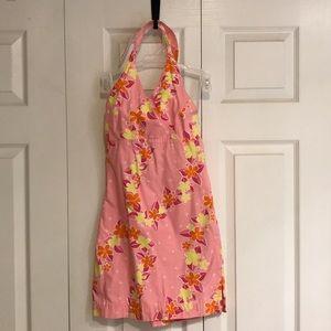 Girls Lilly Pulitzer halter dress size 10